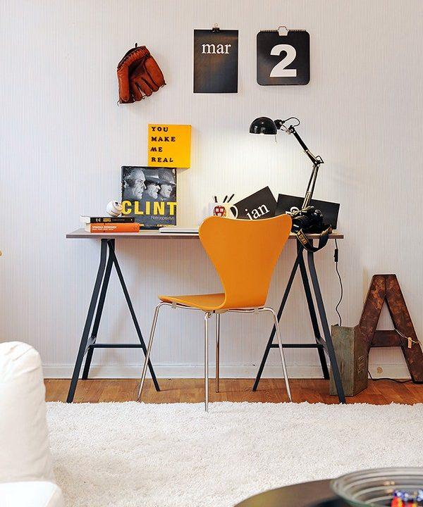 Домашен офис интериор