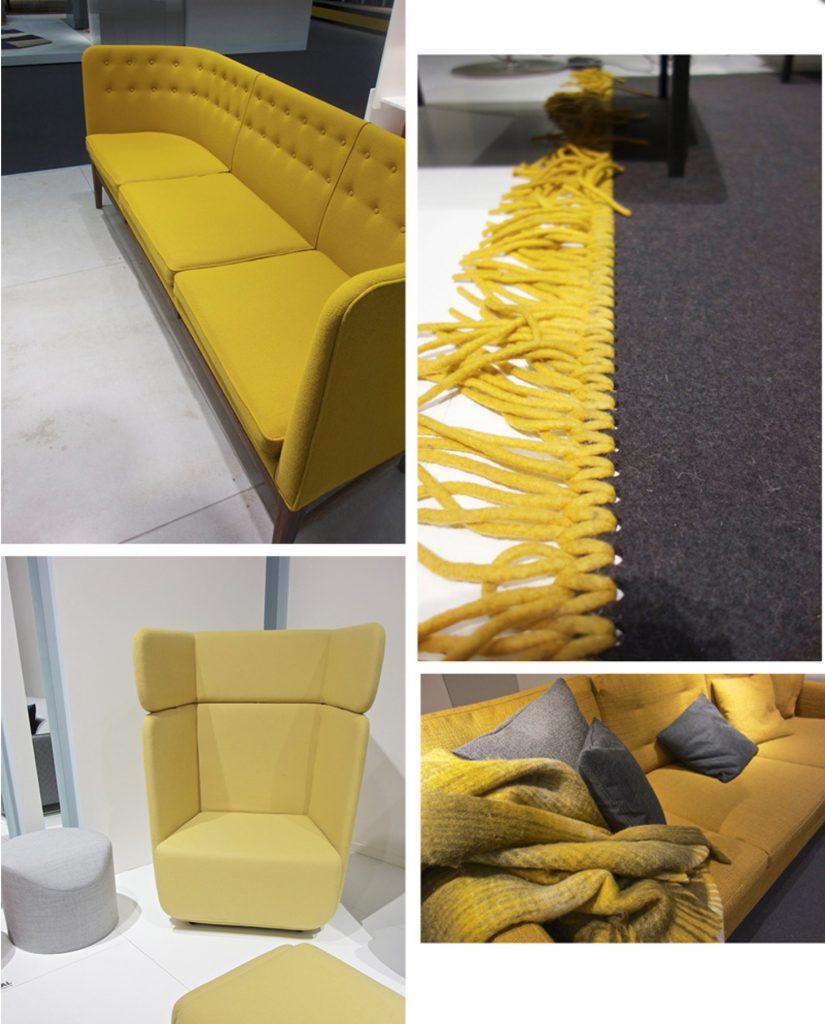 Жълти нюанси в интериора
