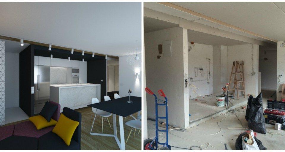 Interior design project by ALL in Studio
