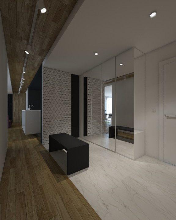 Entrance interior design by ALL in Studio