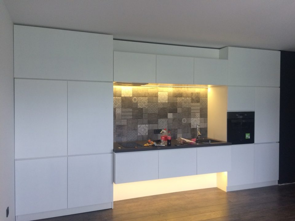 Kitchen design by All in studio