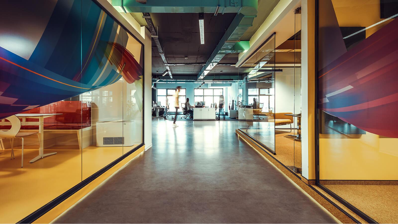 Отворено офис пространство - кабинети