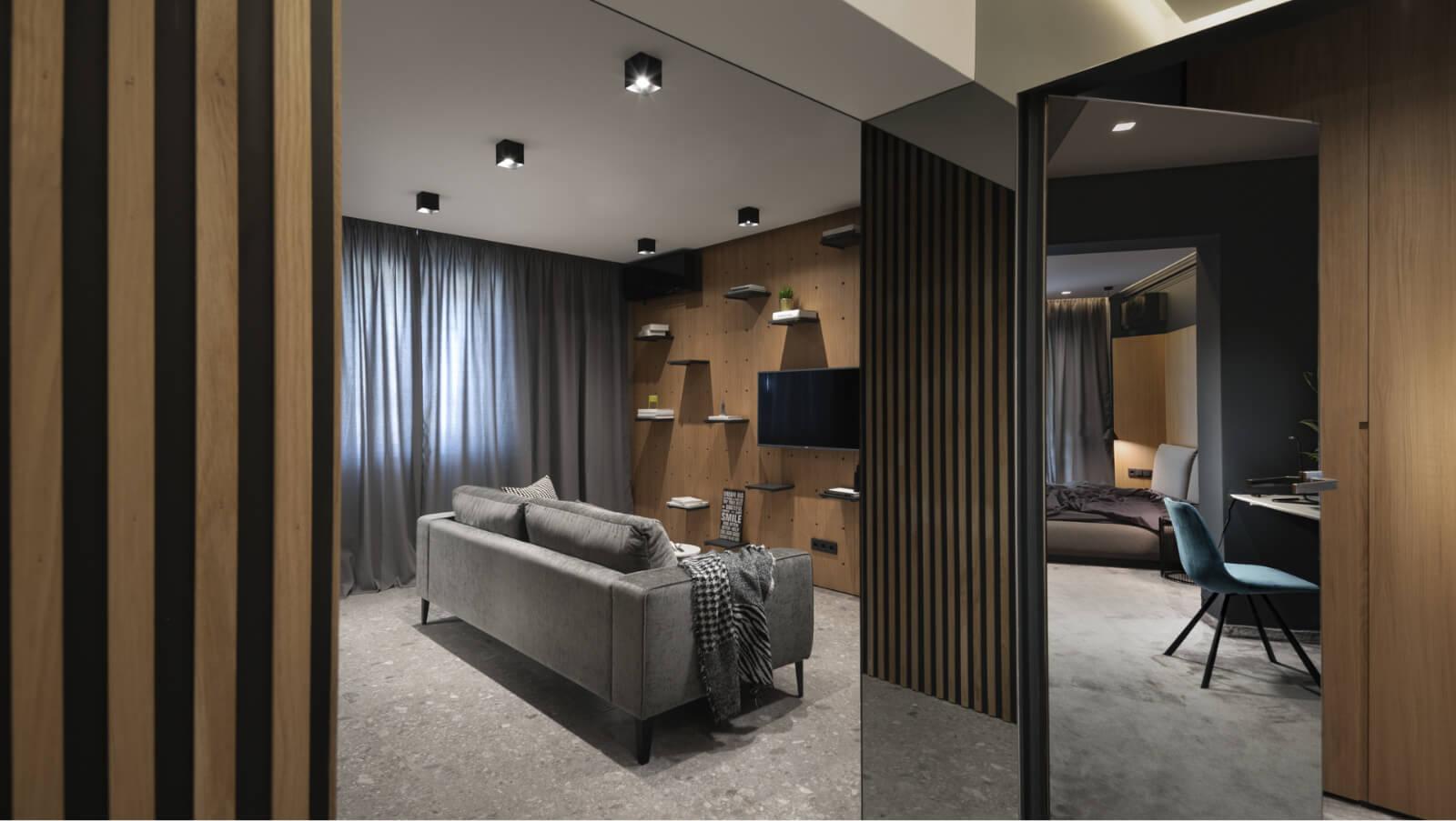 Дизайн на хол - изглед от спалнята