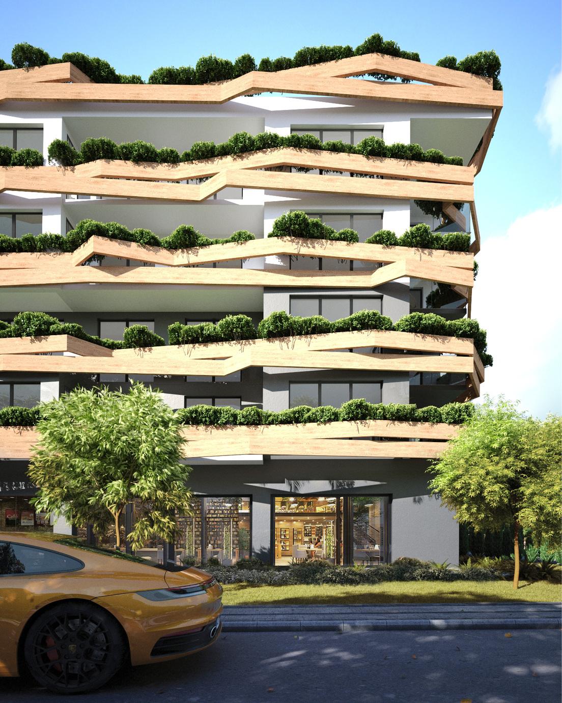 Архитектурен проект - Зелена фасада