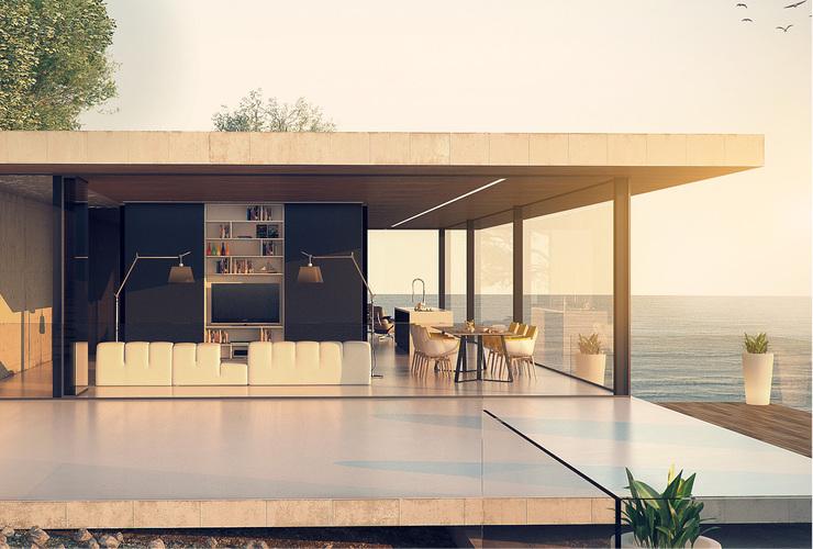 Архитектурен проект - Къща на морето, Каварна