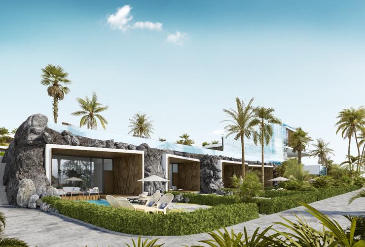 Хотел на плажа - вили