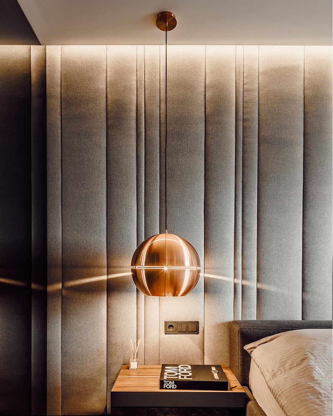 Е6 хаус - осветление, спалня