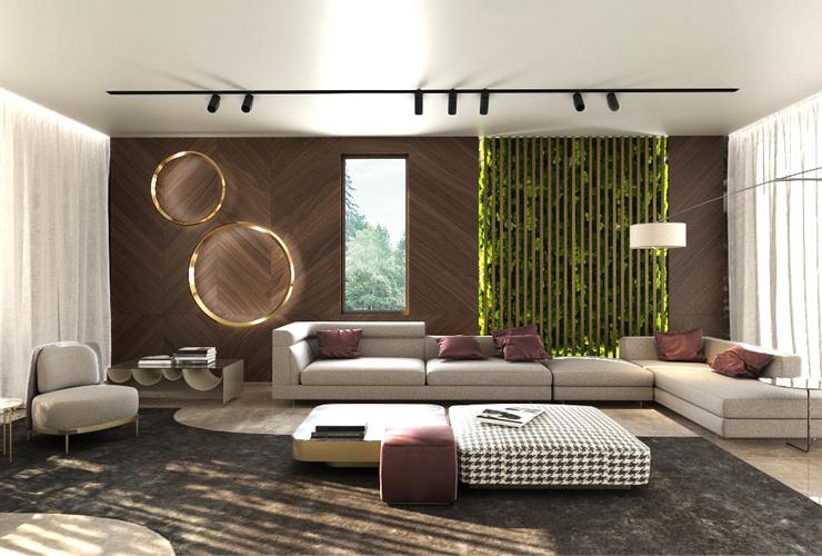 3d проект - визуализация на къща в Драгалевци