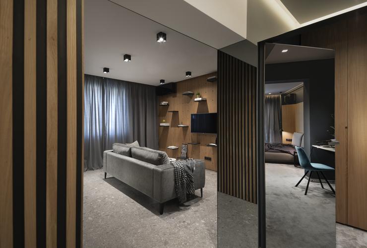 Интериорен дизайн на апартамент 60 кв