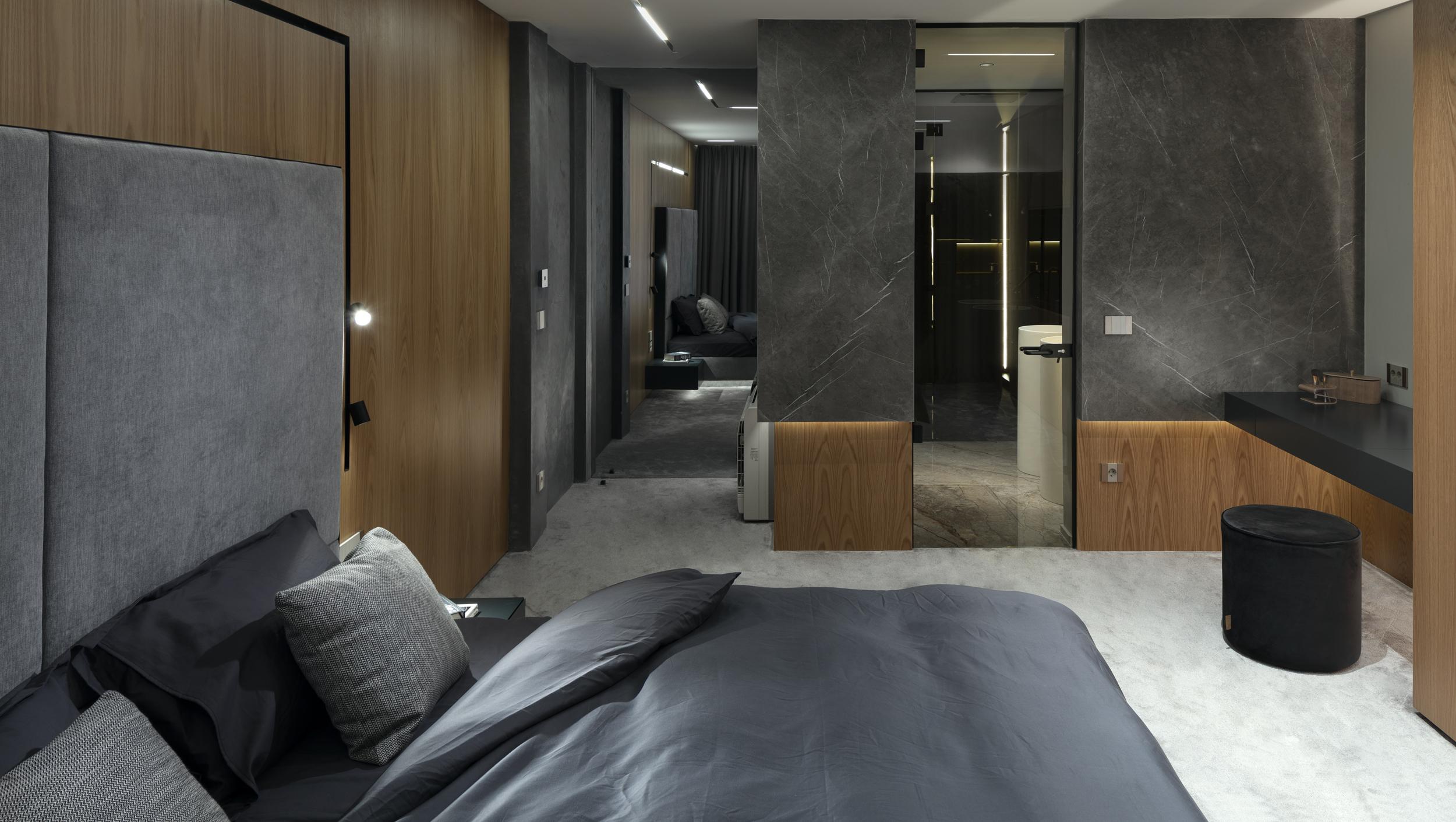 Спалня и баня