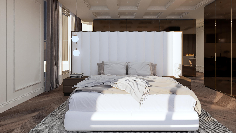 Магнолия проект - интериорен дизайн на спалня